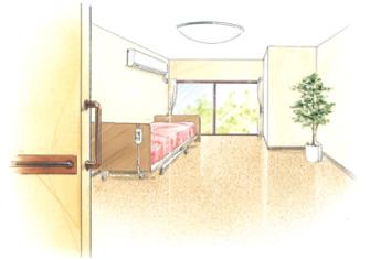 個室イメージ図